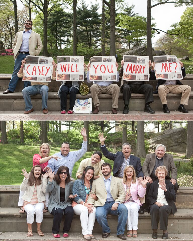 Marriage Proposal Ideas With Surprise Parties