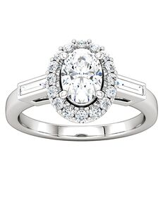 ever&ever Vintage Princess, Asscher, Cushion, Emerald, Marquise, Round, Oval Cut Engagement Ring
