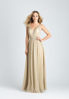 Allure Bridesmaids 1516 V-Neck Bridesmaid Dress