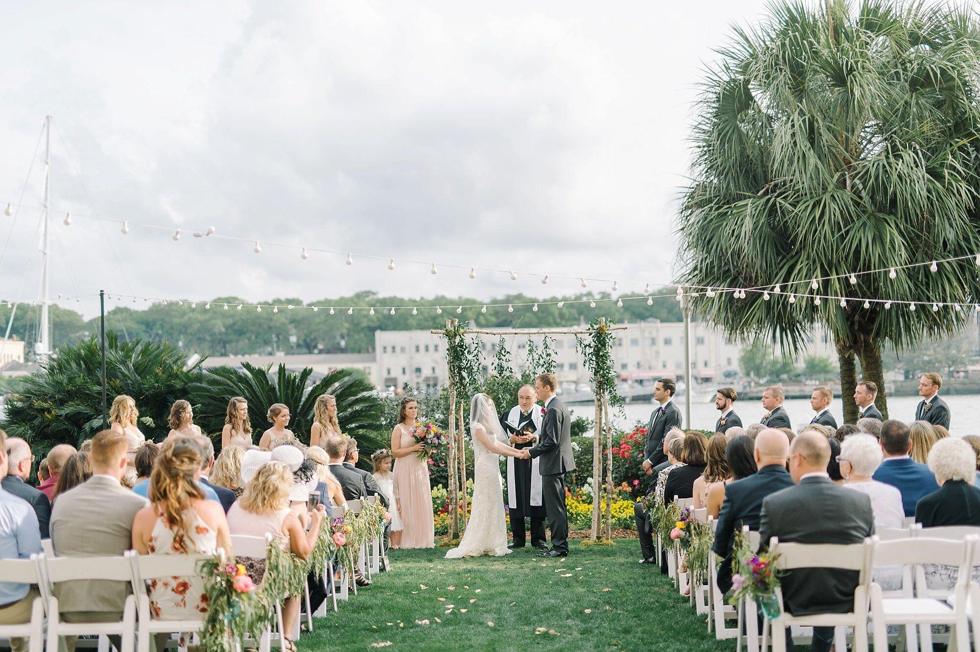Wedding reception venues in savannah ga the knot the westin savannah harbor junglespirit Gallery