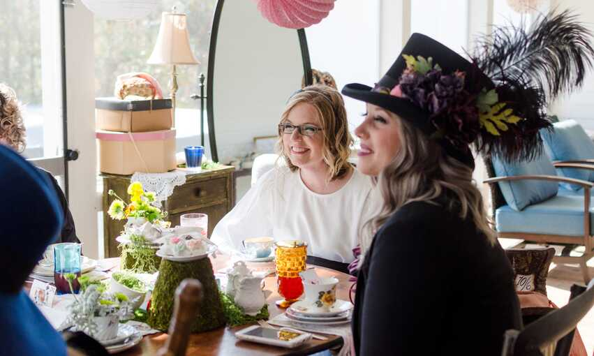 Mad Hatter Tea party themed inspiration and ideas