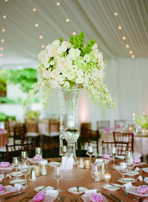 Tall Elegant Floral Centerpieces