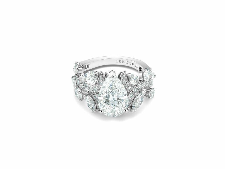 DeBeers engagement ring