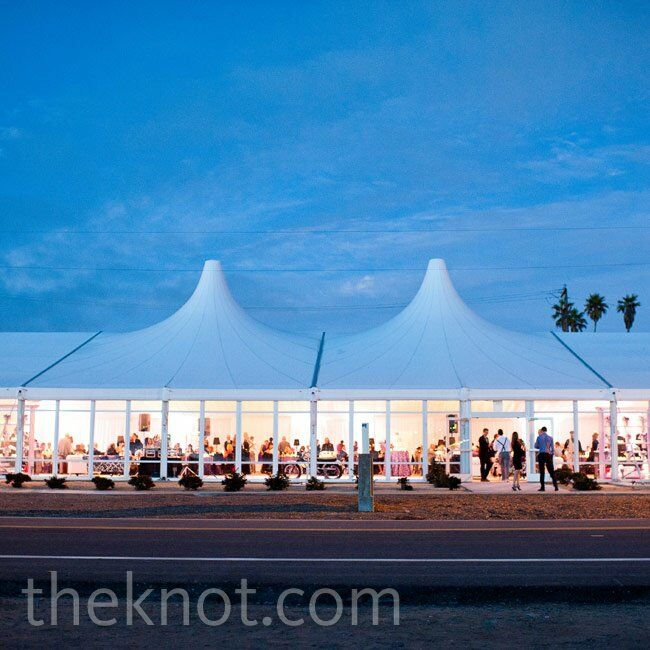 Tented Evening Reception