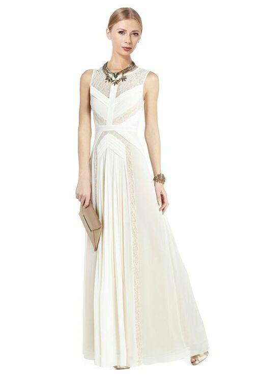 BCBGMAXAZRIA Avi Pleated Gown NQR6U561-114 Wedding Dress - The Knot