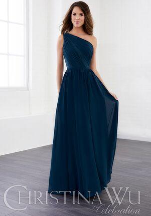 Christina Wu 22826 One Shoulder Bridesmaid Dress