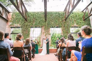 Modern Ceremony at Hotel Emma in San Antonio, Texas