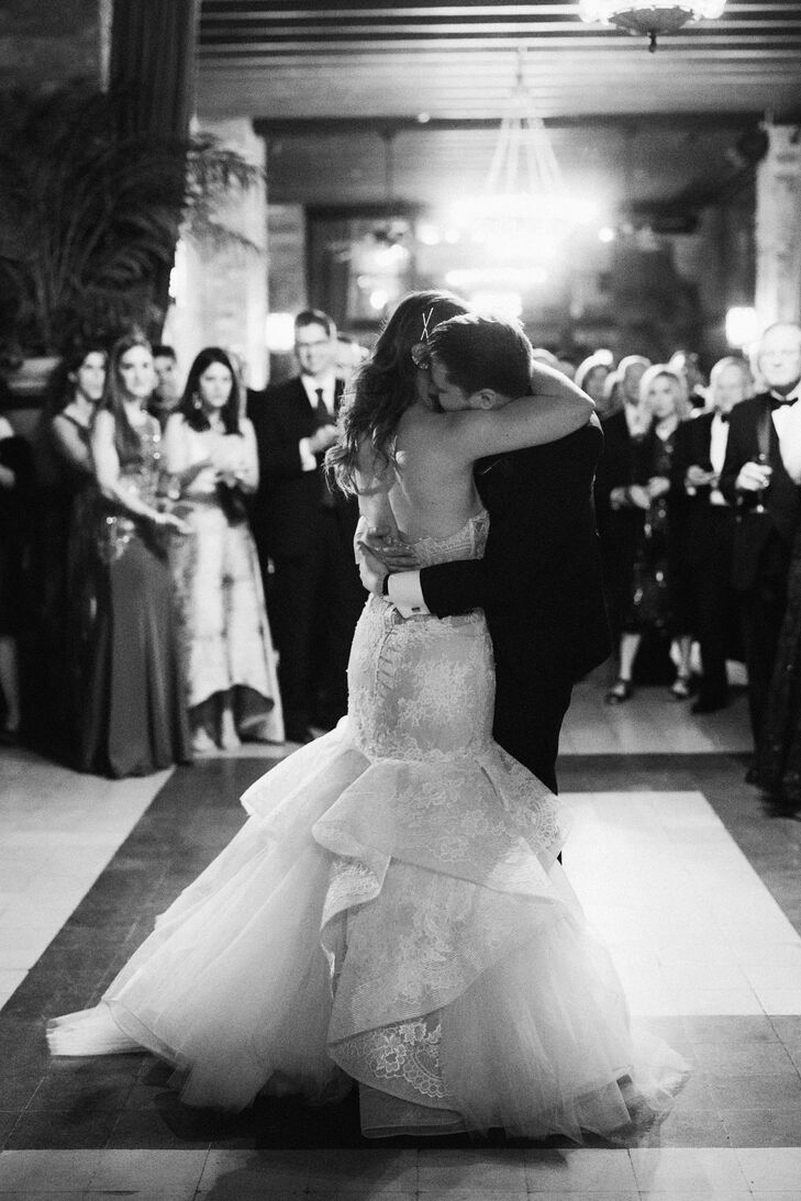 Romantic First Dance at The Bowery Hotel in New York City