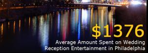 Philadelphia Wedding Entertainment Costs