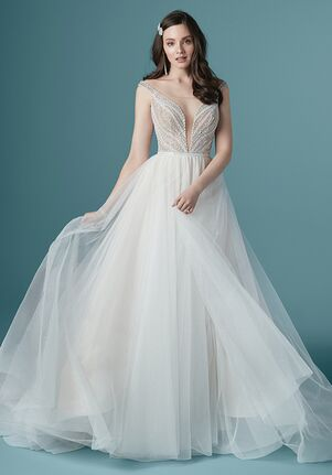 Maggie Sottero NINA A-Line Wedding Dress
