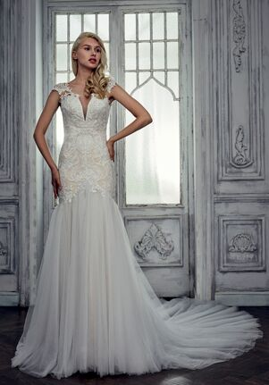 Calla Blanche 17120 Janine A-Line Wedding Dress