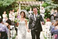 When Katie Milan (28 and a librarian) and Garret Bowman (28 and a lawyer) realized that their wedding would be too big to fit into the barn on Garret'