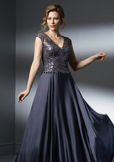 Jade Couture Mother of the Bride by Jasmine K198052 Grey Mother Of The Bride Dress
