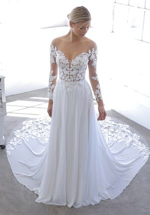 Blue by Enzoani NANDANA Sheath Wedding Dress