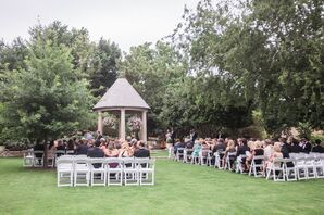 Summer Wedding at Fort Worth Botanic Gardens