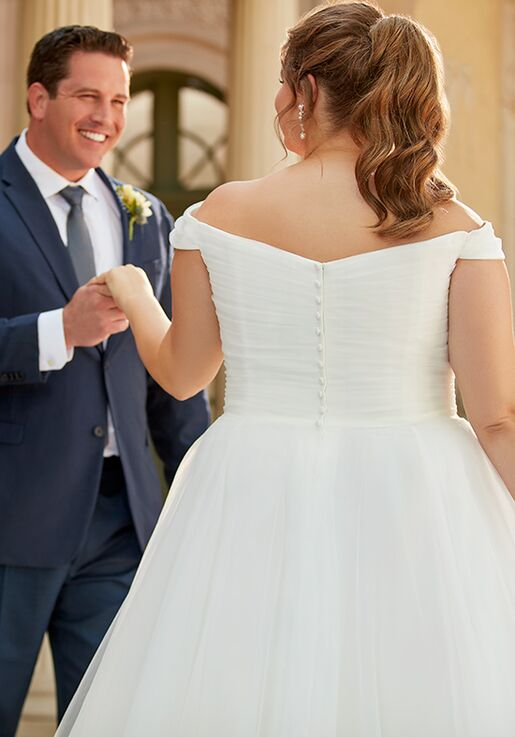 Stella York 6901+ A-Line Wedding Dress