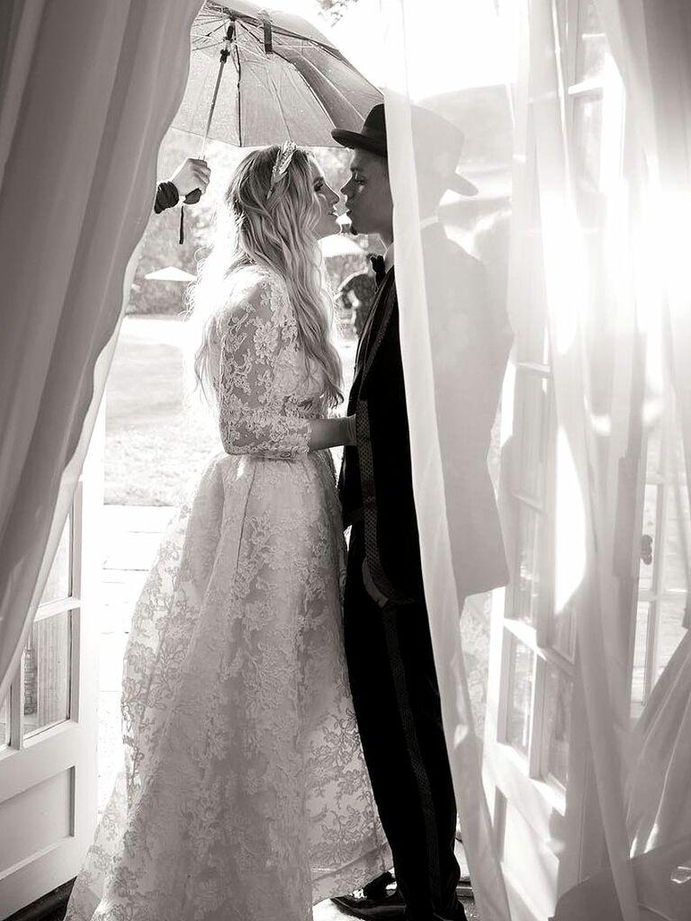 Ashlee Simpson Wedding Dress