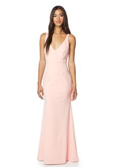 Bill Levkoff 1708 V-Neck Bridesmaid Dress