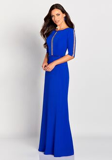 Cameron Blake 119655 Blue Mother Of The Bride Dress
