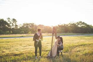 Zephyr Strand, Flute and Harp Duo