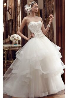 Casablanca Bridal 2199 Ball Gown Wedding Dress