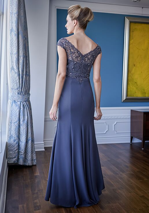 Jade Couture Mother of the Bride by Jasmine K228009 Black,Blue,Champagne,White,Silver,Ivory,Pink,Purple,Red,Green,Gray Mother Of The Bride Dress