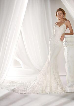 Nicole Milano 2019 Collection NIAB19113 Mermaid Wedding Dress