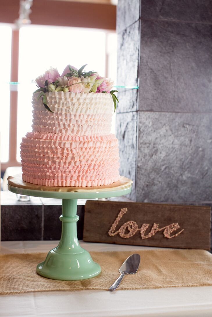 Pink Ombre With Chantilly Whipped Cream