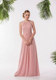 JASMINE P186005 Halter Bridesmaid Dress