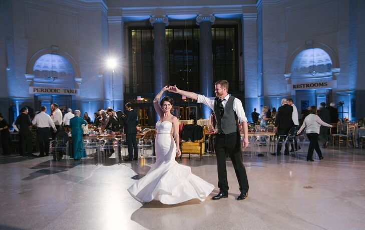 First Dance at Science Museum of Virginia
