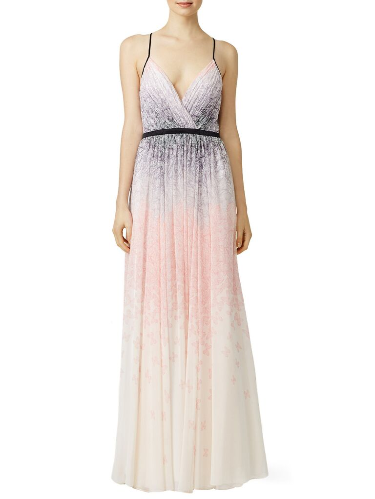 badgley mischka spring wedding guest dresses