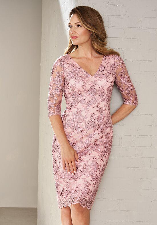 Jasmine Black Label M200009 Pink Mother Of The Bride Dress