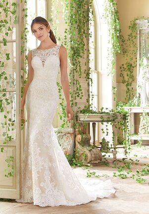 Morilee by Madeline Gardner/Blu Penny Sheath Wedding Dress