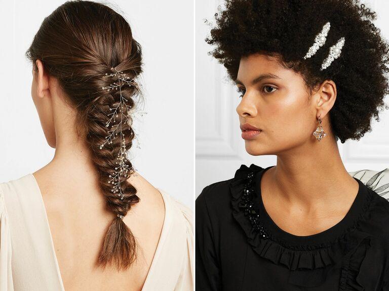 4cc208baf 12 Hot, High-Fashion Bridal Hairstyles