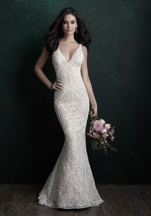 Allure Couture C500 Sheath Wedding Dress