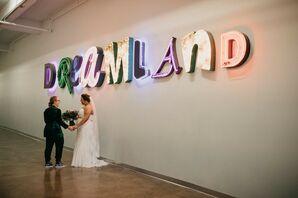 Newlywed Couple at PAIKKA in St. Paul, Minnesota