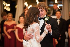 Newlyweds' First Dance