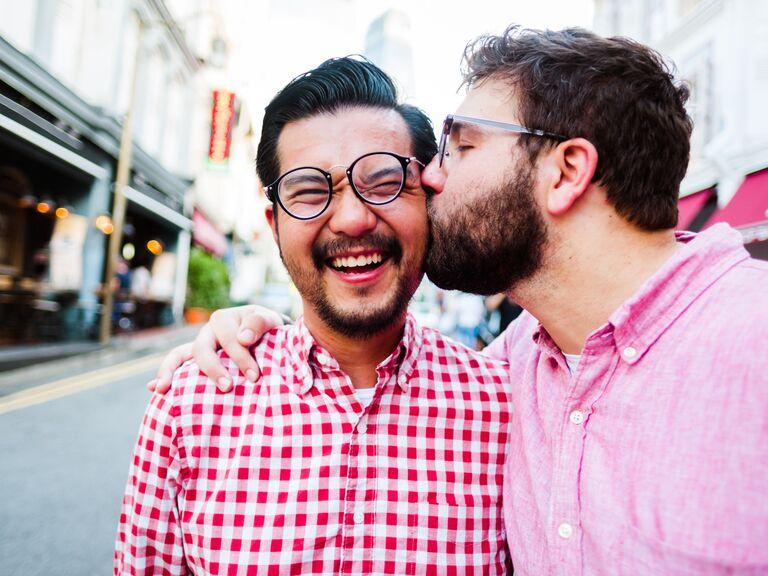 LGBTQ anniversary photo
