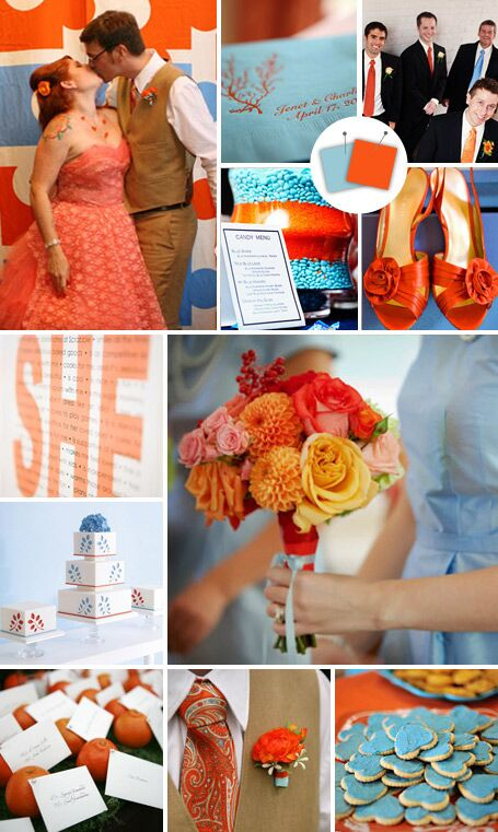 20 Crazy Color Combos That Actually Work By Theknot Com
