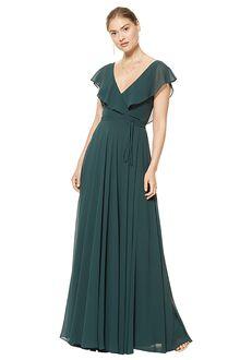 #LEVKOFF 7112 V-Neck Bridesmaid Dress