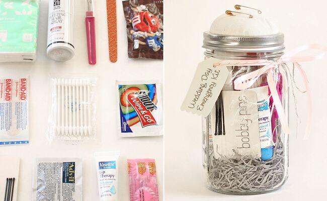 DIY wedding day emergency kit: 'A Casarella / TheKnot.com