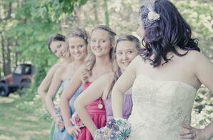 Colorful Bridesmaid Looks