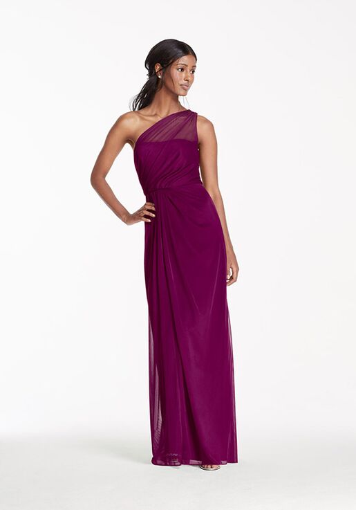 f5b593765ff David s Bridal Collection David s Bridal Style F15928 One Shoulder  Bridesmaid Dress