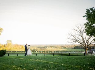 This wedding combined all of Teresa Amasia (29 and a teacher) and Zach Keifer's (29 and a filmmaker) favorite things: vintage, t