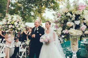 Spring Garden Party Getaway Bridal Processional