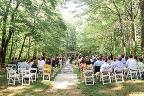 Intimate Forest Ceremony