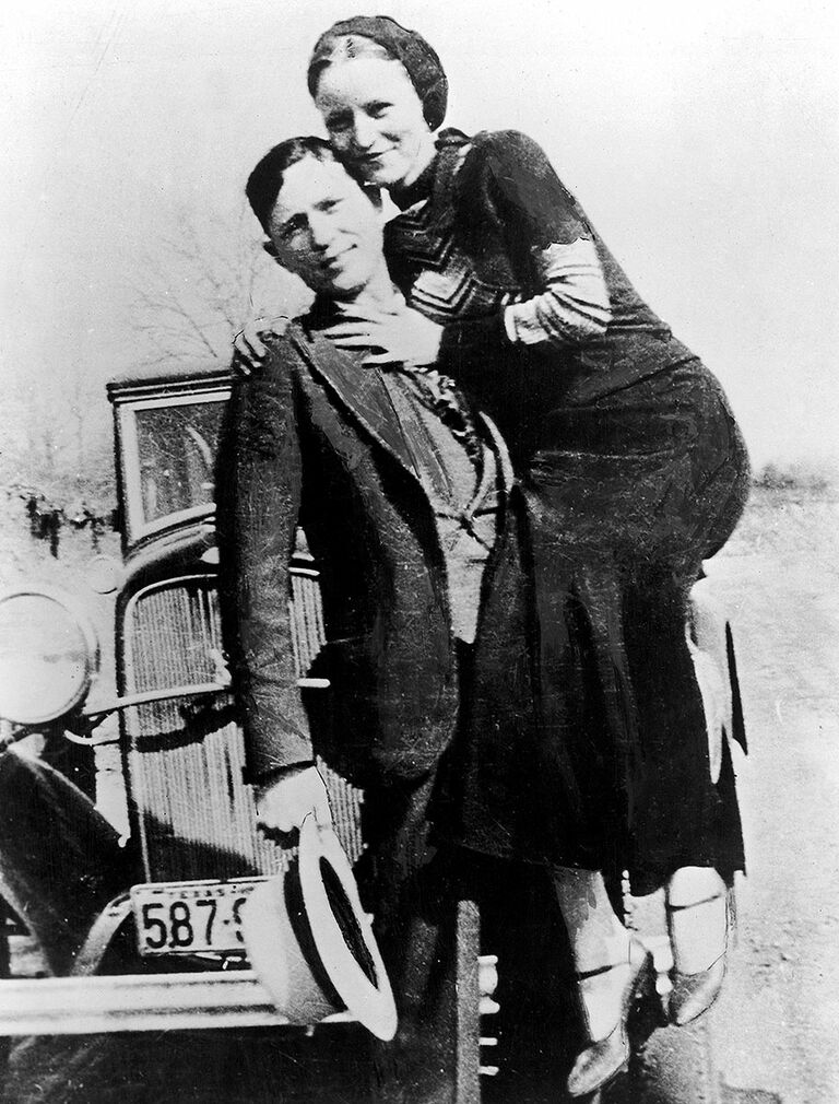 Bonnie and Clyde famous couples in history