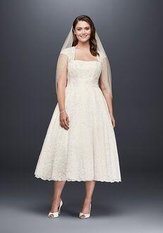 David's Bridal David's Bridal Style 9T9948 A-Line Wedding Dress