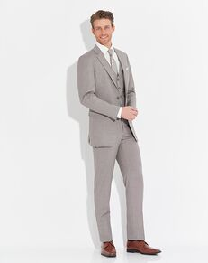 Allure Men Sandstone Suit Brown Tuxedo