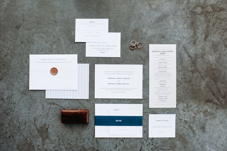 Modern Invitations with Simple Typography